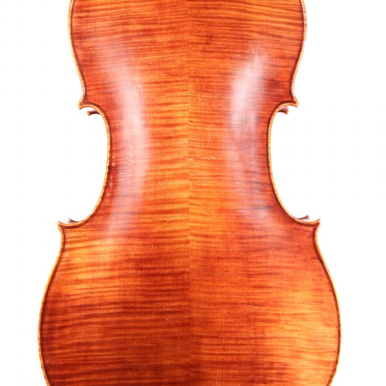 Cello by Charles Quenoil, Paris 1925 no.607 for sale at Bridgewood and Neitzert London