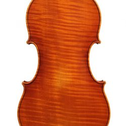Baroque violin by Roland Ross for sale at Bridgewood and Neitzert London
