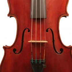 Violin by Emile Germain, Paris 1900 for sale at Bridgewood and Neitzert London