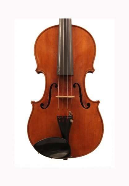 Violin by atelier Alfred Charles Brugere 1898 for sale at Bridgewood and Neitzert London