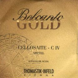 Belcanto Cello Strings for sale at Bridgewood and Neitzert London