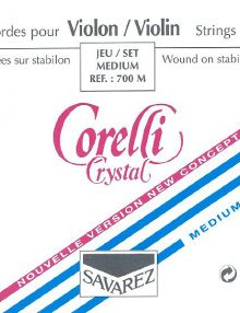 Corelli violin strings for sale at Bridgewood and Neitzert London