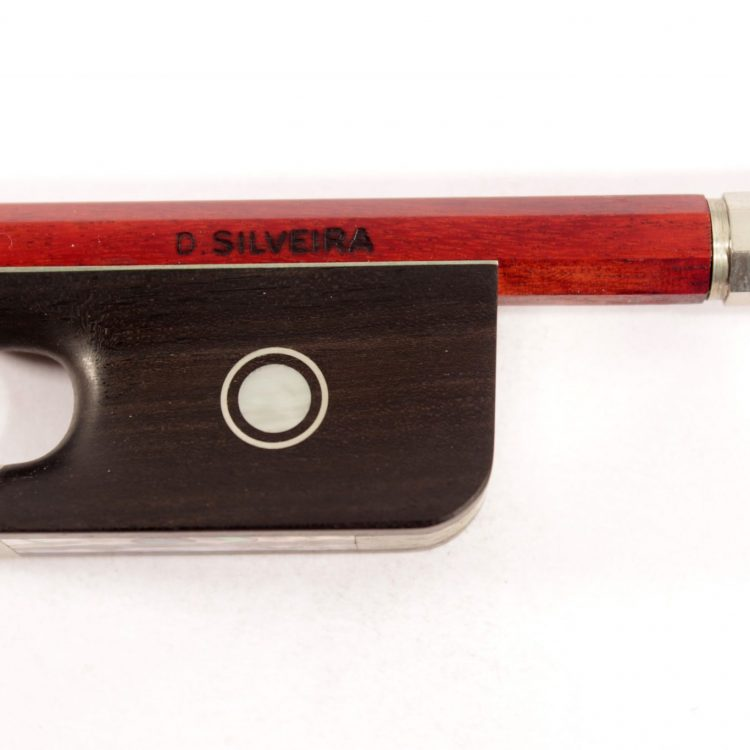 Cello bow by D Silveira, Brazil for sale at Bridgewood and Neitzert London