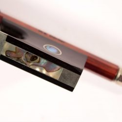 Violin bow by W E Dorfler for sale at Bridgewood and Neitzert London