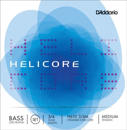 D'Addario Helicore Orchestral Double Bass Stringsfor sale at Bridgewood and Neitzert London