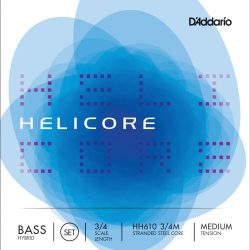 D'Addario Helicore Hybrid Double Bass Strings for sale at Bridgewood and Neitzert London