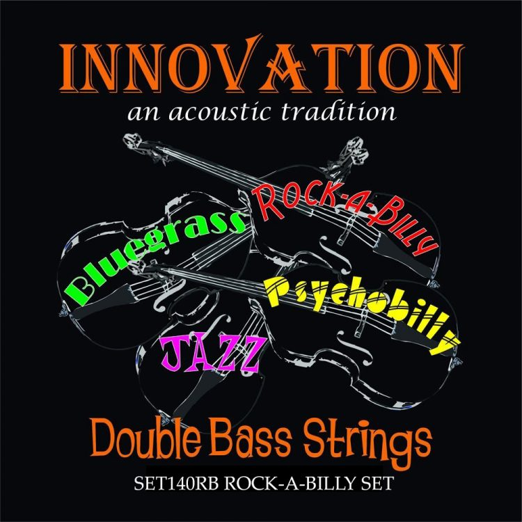 Innovation Rockabilly double bass strings for sale at Bridgewood and Neitzert London