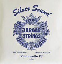 Jargar Silver Sound Cello Strings for sale at Bridgewood and Neitzert London