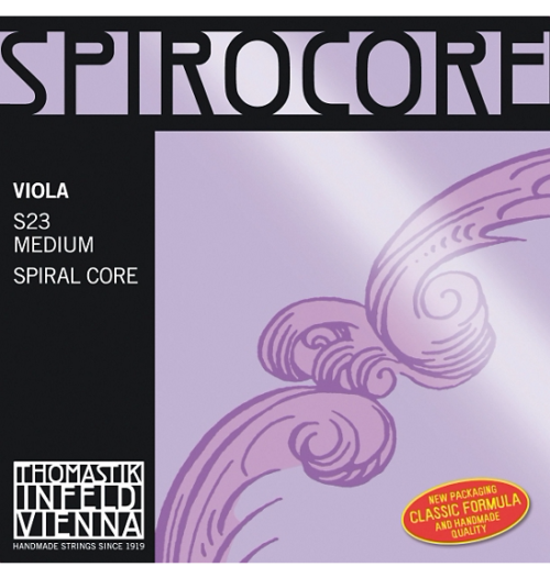 Thomastik Spirocore Viola Strings for sale at Bridgewood and Neitzert London
