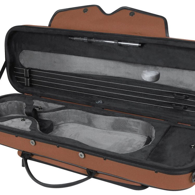 PEDI 16100 Night Stripe SteelShield Violin Case for sale at Bridgewood and Neitzert London