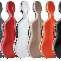 Gewa air cello case exterior coloursfor sale at Bridgewood and Neitzert London