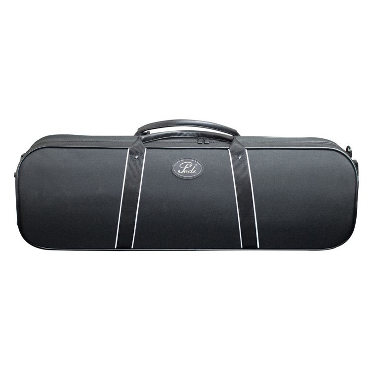 Pedi Night Stripe Steel Shield Violin Case