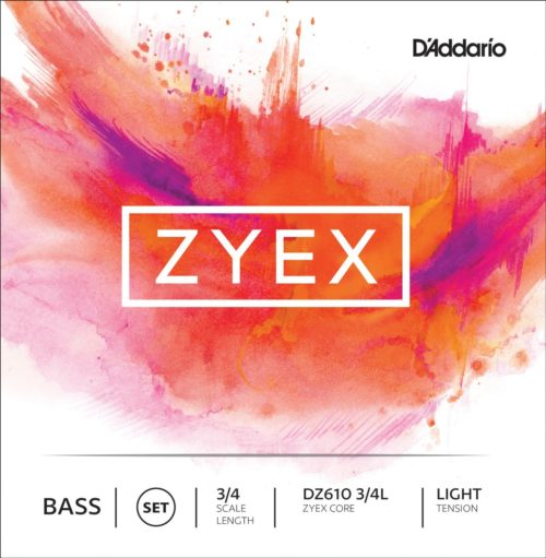 Zyex Double Bass Strings for sale by Bridgewood and Neitzert London