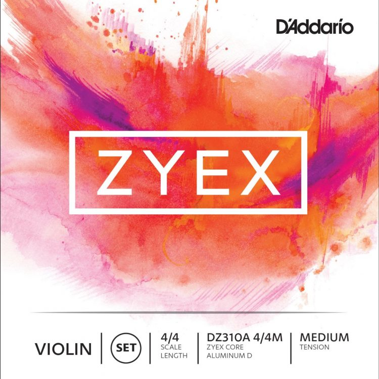 Zyex Violin Strings for sale by Bridgewood and Neitzert London