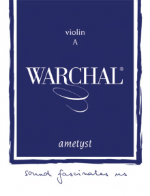 Warchal Ametyst Violin Strings for sale at Bridgewood and Neitzert London