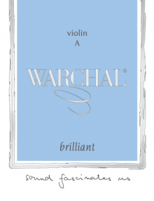 Warchal Brilliant Violin Strings for sale at Bridgewood and Neitzert London