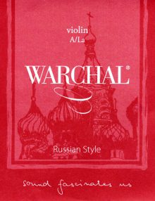 Warchal Russian Style violin A string for sale at Bridgewood and Neitzert London