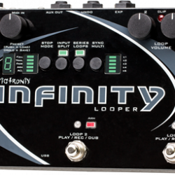 Pigtronix infinity pedal for sale at Bridgewood and Neitzert London