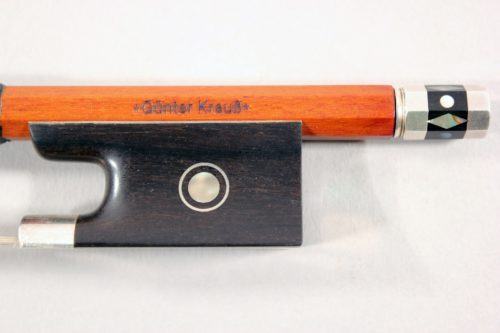 Violin bow by Gunter Kraus for sale at Bridgewood and Neitzert London