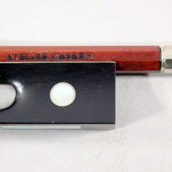 Violin bow by Atelier Casara for sale at Bridgewood and Neitzert London