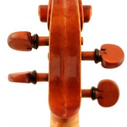 Baroque violin by Chris Johnson for sale at Bridgewood and Neitzert London