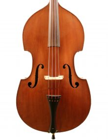 German German double bass c1870 for sale at Bridgewood and Neitzert London