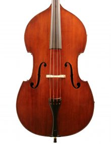 French double bass Jacquet school for sale at Bridgewood and Neitzert London