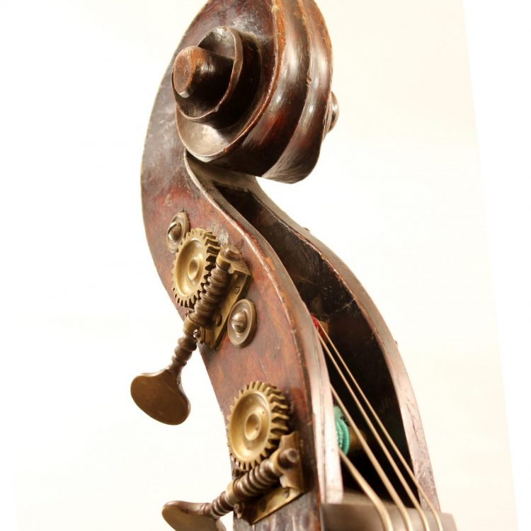 German double bass c1880 for sale at Bridgewood and Neitzert London