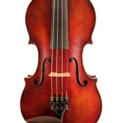 violin by Charles Francois Langonet 1906 for sale at Bridgewood & Neitzert London