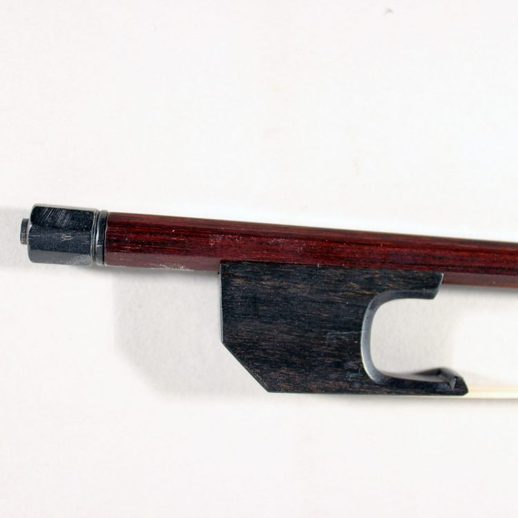 Baroque violin or viola bow by Francine Humbert-Droz Switzerland 2018