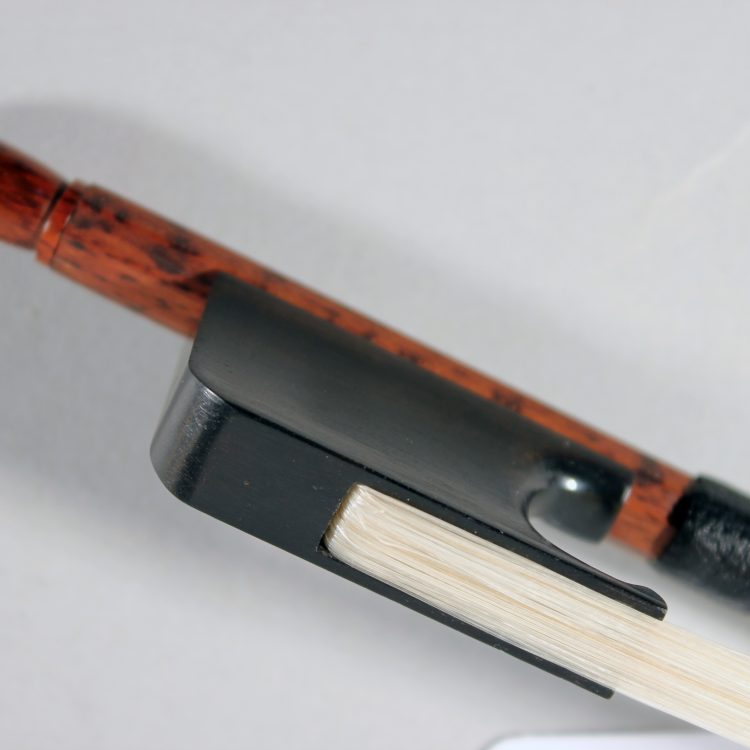 Classical violin bow by Francine Humbert-Droz Switzerland 2018 for sale at Bridgewood and Neitzert London