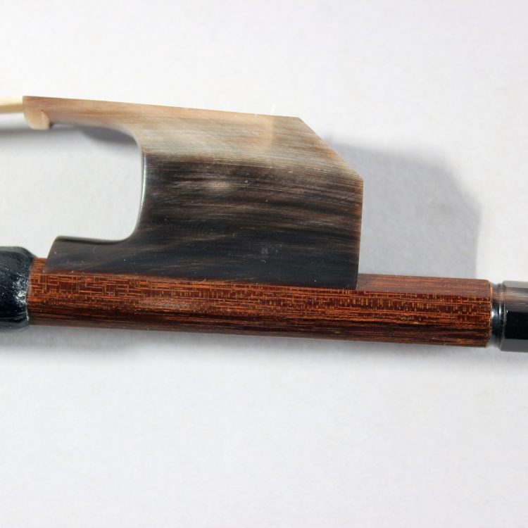 Transitional cello bow stamped J. Fornaciari for sale at Bridgewood and Neitzert London