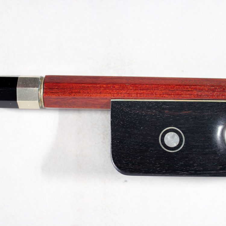 L. Gray 3/4 Double bass bow, French pattern for sale at Bridgewood and Neitzert London