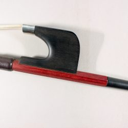 Bass Bow Korean 1/2 Mounted German Pattern for sale at Bridgewood and Neitzert London