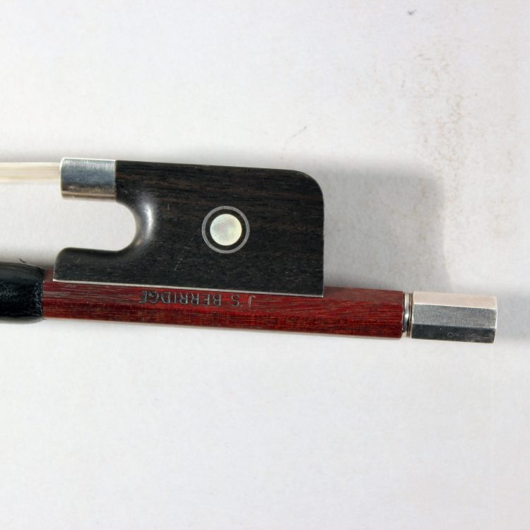 "7/8 Cello bow stamped ""J.S. Berridge"" for sale at Bridgewood and Neitzert London"