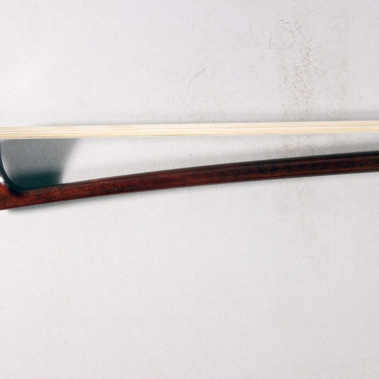 Jon Paul Corona Carbon Violin Bow Nickel Mounted for sale at Bridgewood and Neitzert London
