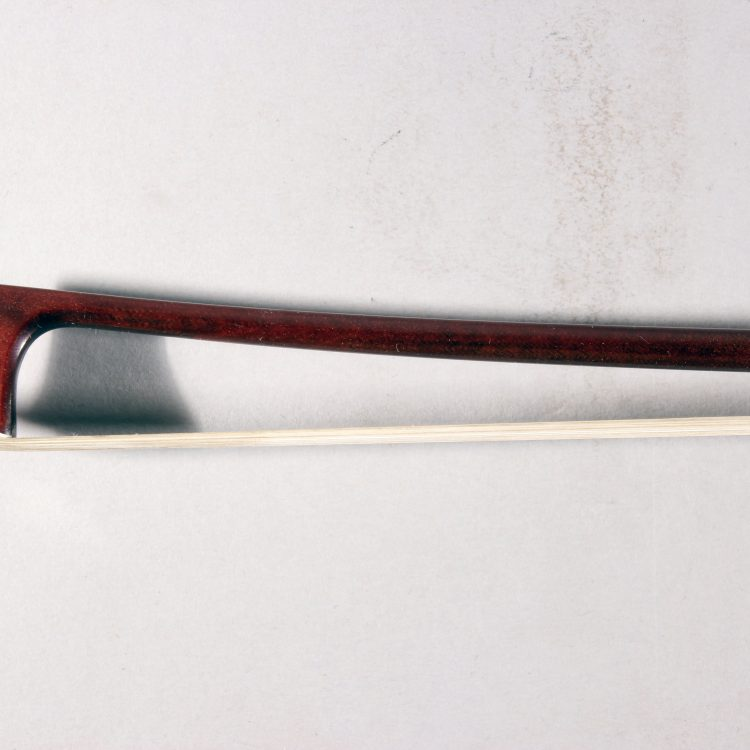 Jon Paul Corona Carbon Violin Bow Nickel Mounted