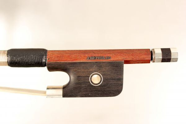 Cello bow by J. Reynolds for sale at Bridgewood and Neitzert London