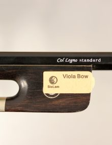 Carbon Viola Bow Col Legno Standard Model for sale at Bridgewood and Neitzert London