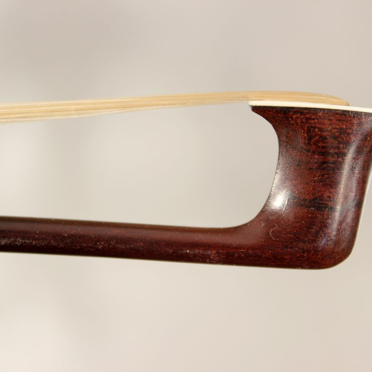 Classical violin bow, maker unknown.