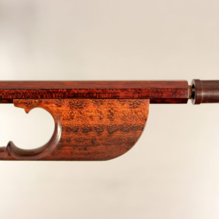 Baroque Cello Bow, Snakewood for sale at Bridgewood and Neitrzert London