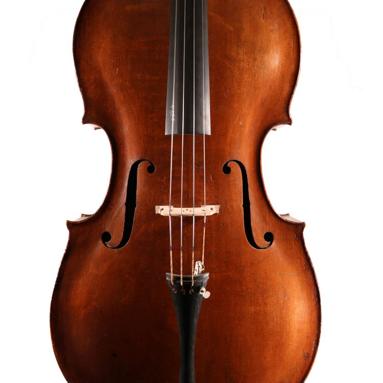 Cello by Peter Wamsley, London c.1745