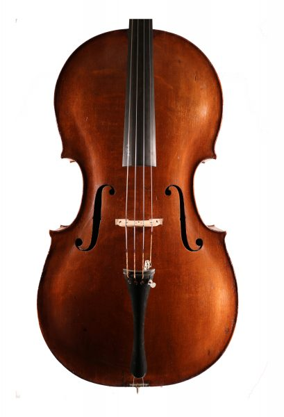 Cello by Peter Wamsley, London c.1770 for sale at Bridgewood and Neitzert London