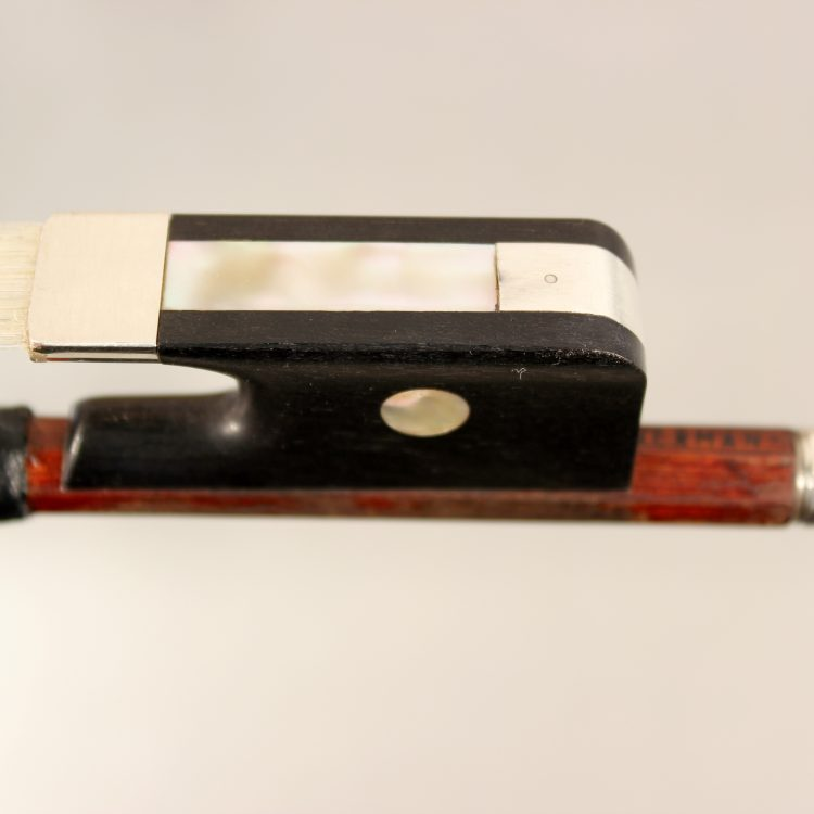 viola bow by Alfred Knoll for sale at Bridgewood and Neitzert London