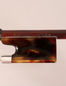 Violin bow by R Weichold Drseden for sale at Bridgewood and Neitzert London