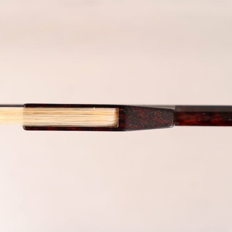 Roger Doe baroque violin bow for sale at Bridgewood and Neitzert London
