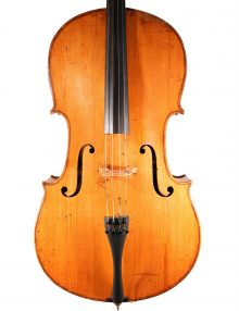 Saxon cello c.1800 for sale at Bridgewood and Neitzert London