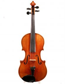 Violin by Ernst Reinhold Schmidt, Markneukirchen 1925 for sale at Bridgewood and Neitzert London