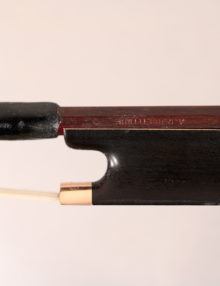 Viola bow by Arthur Bultitude c.1966 for sale at Bridgewood and Neitzert London