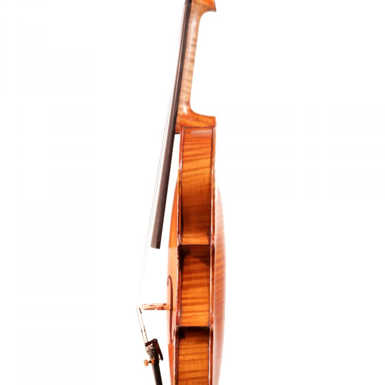 """German Violin labelled """"Carl Meyer"""" c.1900 for sale at Bridgewood and Neitzert London"""